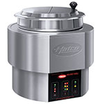 Hatco RHW-1 11-qt Countertop Round Food Warmer/Cooker - Thermostatic, Stainless, 120v
