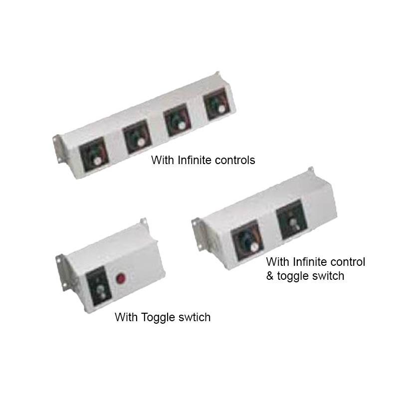 """Hatco RMB-14AJ 14"""" Remote Control Box w/ 3"""" Finite & 1-Toggle Switch for 208 V"""