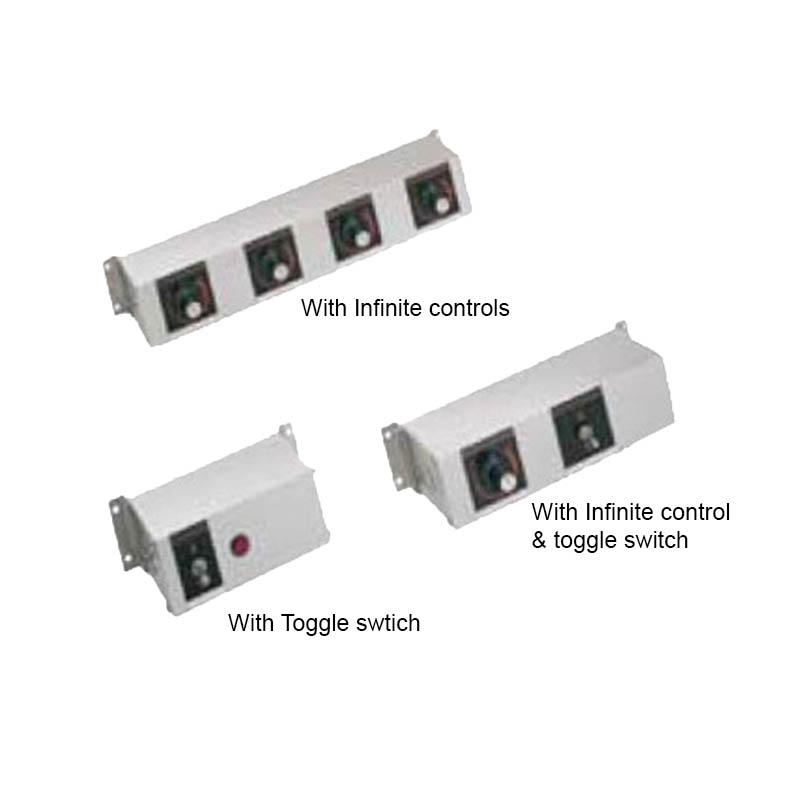 """Hatco RMB-14Q 14"""" Remote Control w/ 2-Toggle & 2"""" Finite Switches for 240 V"""
