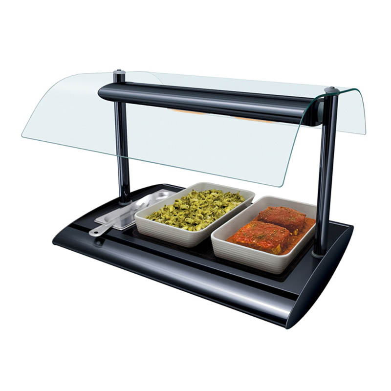 Hatco SRGBW-1 Portable Buffet Warmer w/ Top Light, Digital Temp Control & 1-Pan, 650-watt