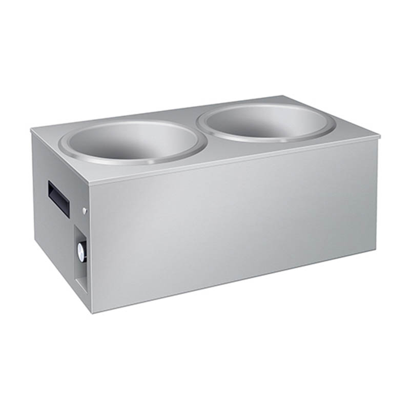 Hatco SW2-11QT Countertop Soup Warmer w/ (2) 11-qt Wells - Stainless