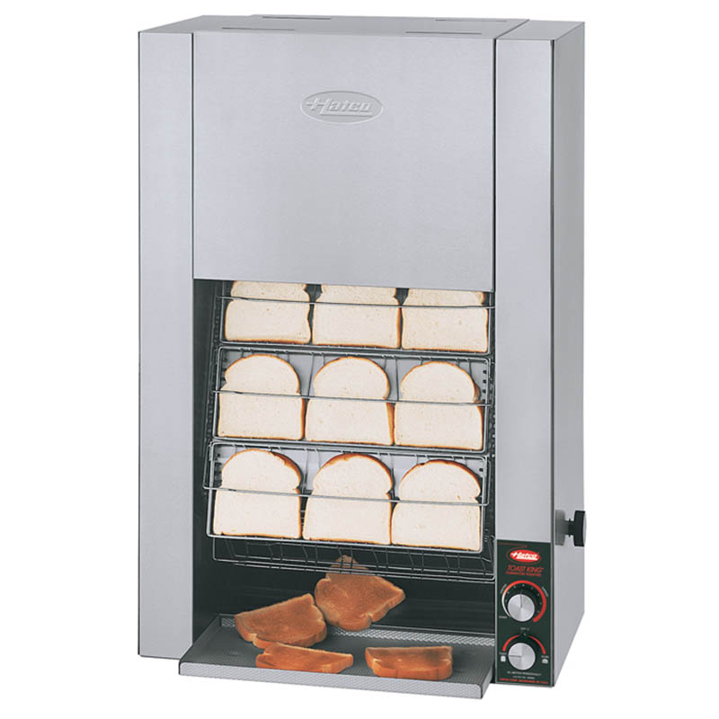 Hatco TK-100 240 Vertical Toaster For 16-Buns Or Slices Per Minute, 240 V