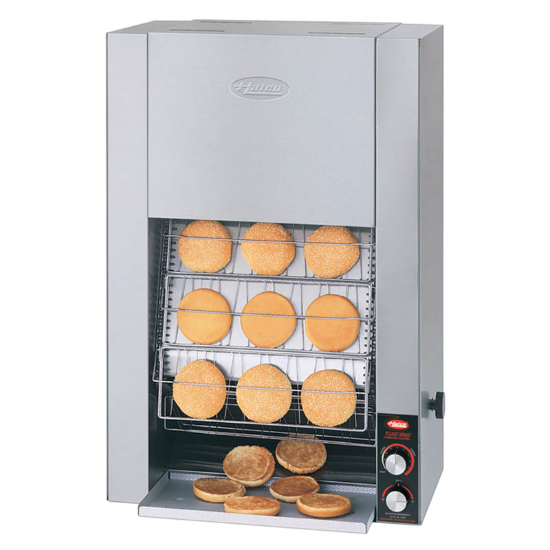 Hatco TK-135B 240 Vertical Conveyor Toaster For 22-Buns Per Minute, 240 V