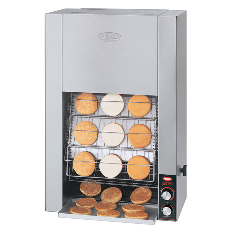 Hatco TK-155B 240 Vertical Conveyor Toaster For 25-Buns Per Minute, 240 V
