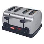 Hatco TPT Pop-Up Toaster, 4-Slots & Individual Controls, 120v