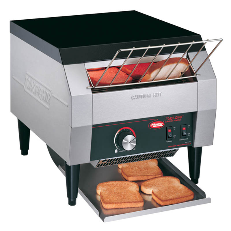 Hatco TQ-1800HBA 240 Conveyor Toaster For One Side 30 Bagels/Buns Per Minute, 240 V