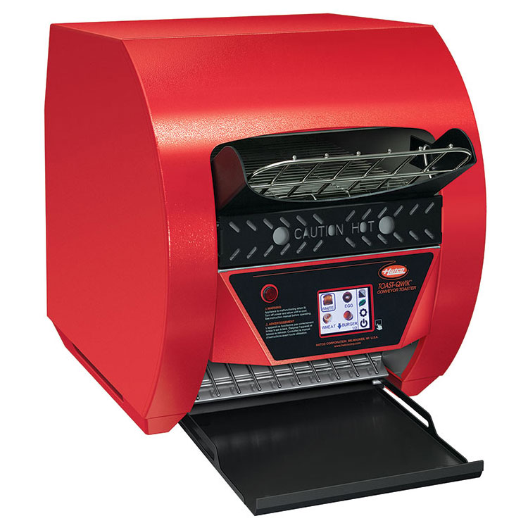 "Hatco TQ3-400 Conveyor Toaster - 420-Slices/hr w/ 2"" Product Opening, 120v"