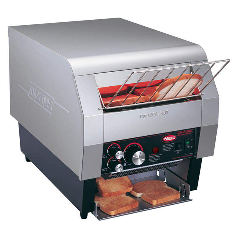 "Hatco TQ-400 Conveyor Toaster - 360-Slices/hr w/ 2"" Product Opening, 120v"