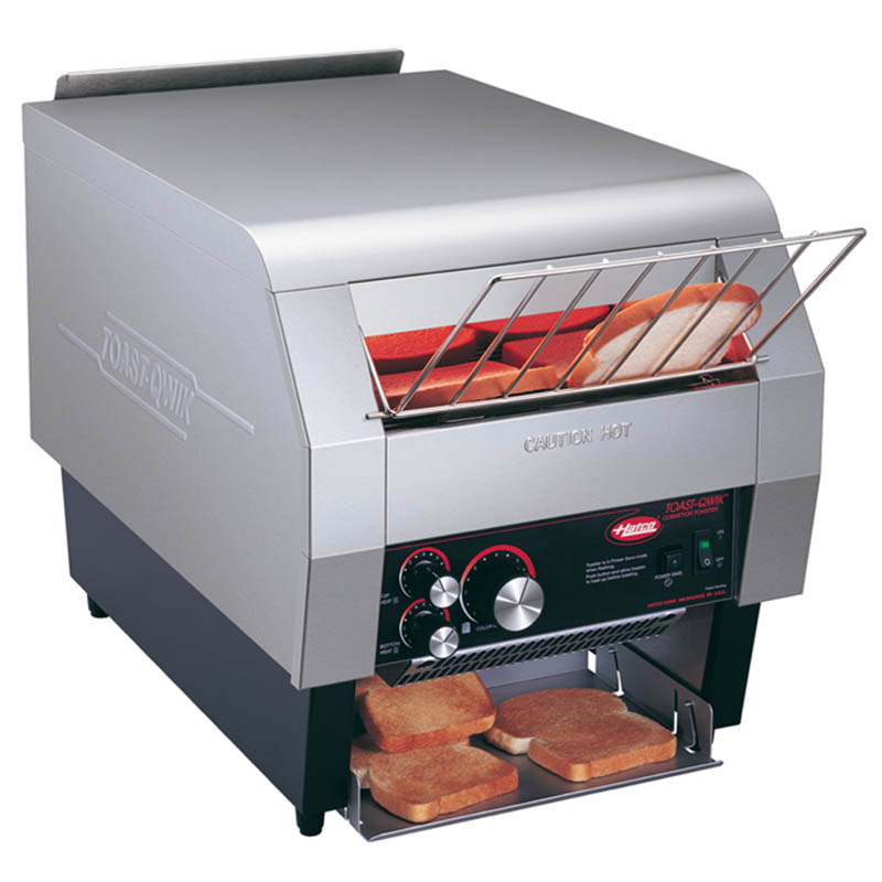 "Hatco TQ-800BA 240 Conveyor Toaster - 840-Slices/hr w/ 2"" Product Opening, 240v/1ph"