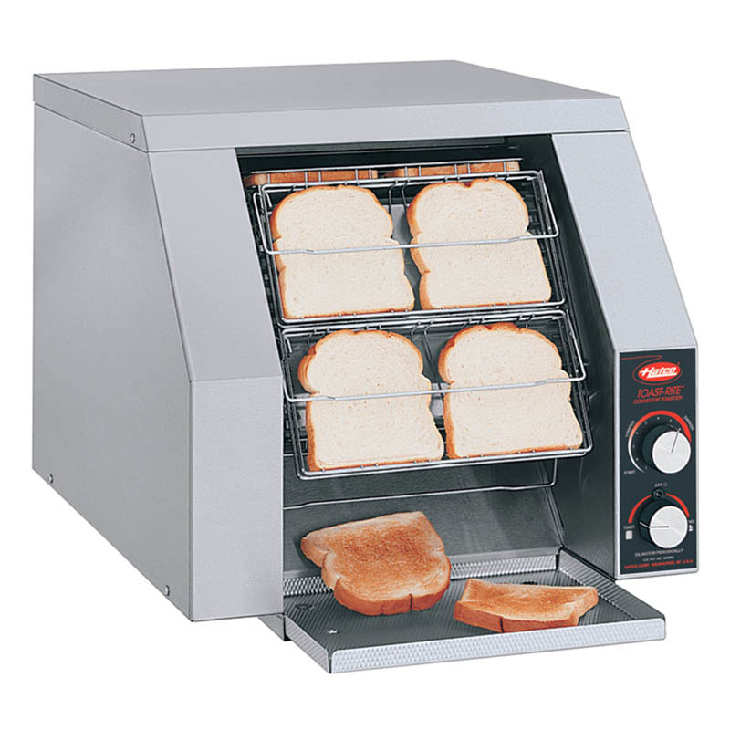 Hatco TRH-50 240 Conveyor Toaster For 8-Buns Or Slices Per Minute, 240 V