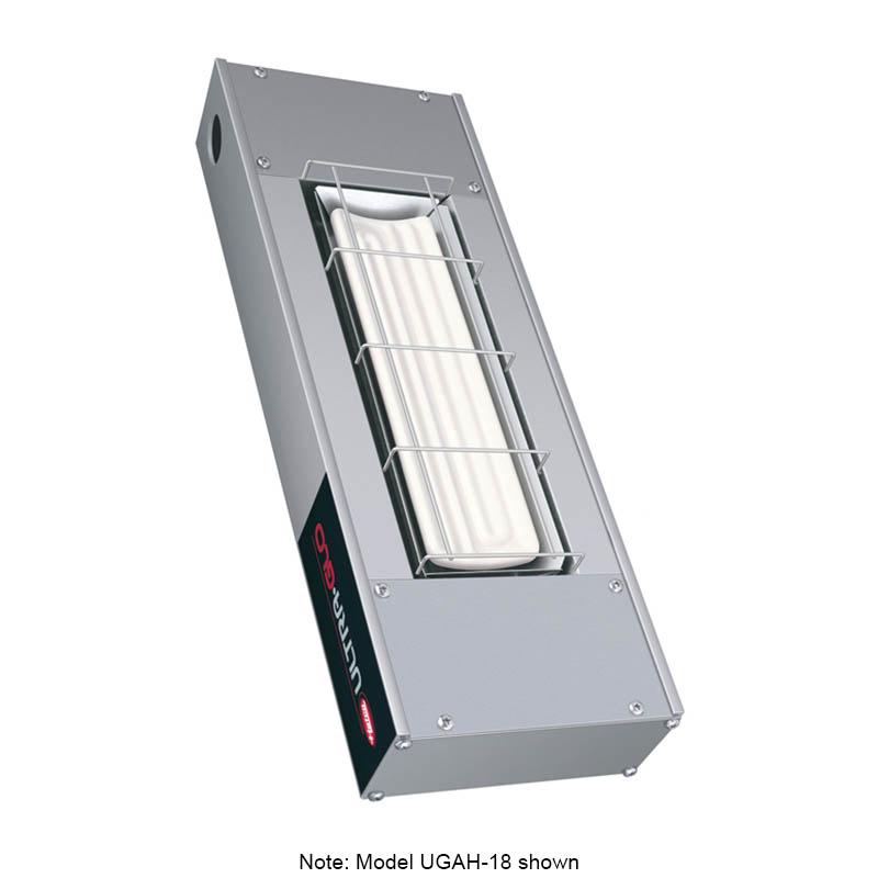 """Hatco UGAH-24 208 24"""" Foodwarmer w/ 1-Ceramic Strip & High Watt, 208 V"""