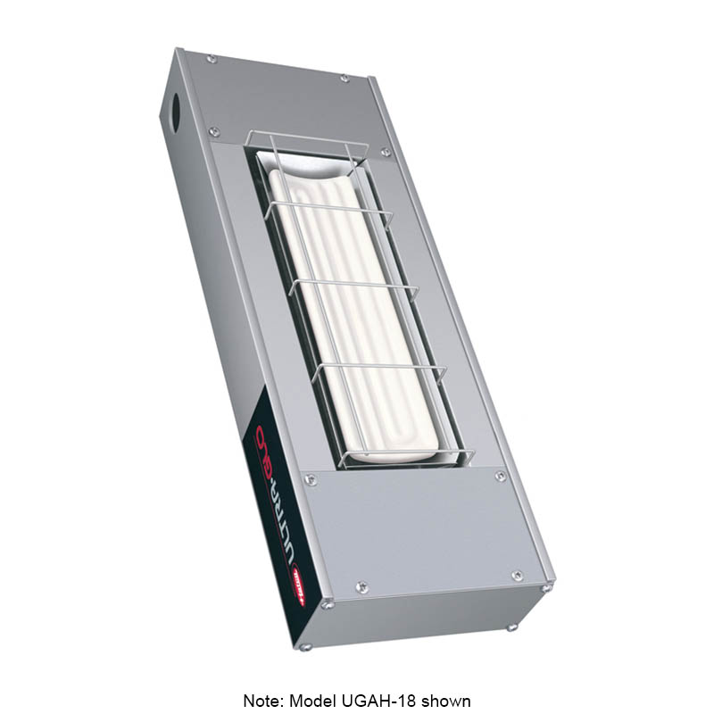 """Hatco UGAH-30 120 30"""" Foodwarmer w/ 1-Ceramic Strip & High Watt, 120 V"""