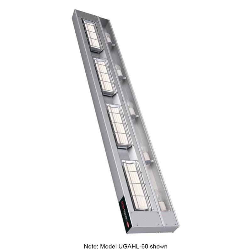 "Hatco UGAHL-72 240 72"" Foodwarmer w/ 1-Ceramic Strip & High Watt, Lights, 240 V"