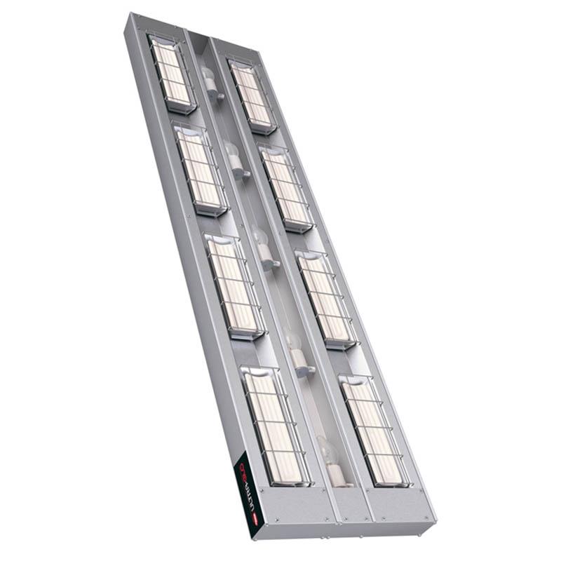 """Hatco UGAL-60D3 60"""" Foodwarmer, 2-Ceramic w/ 3"""" Space & Lights, 240 V"""