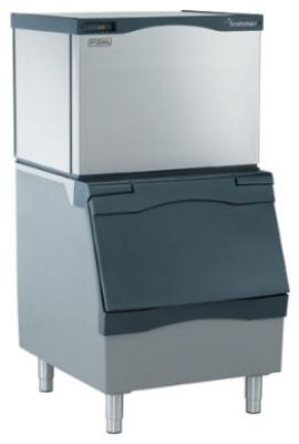 Scotsman C0630SA32AB530P 776-lb/Day Half Cube Ice Maker w/ 536-lb Bin, Air Cooled, 208v/1ph