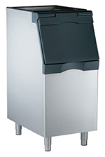 "Scotsman B322S 22"" Wide 370-lb Ice Bin with Lift Up Door"