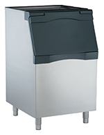 "Scotsman B530S 30"" Wide 420-lb Ice Bin with Lift Up Door"