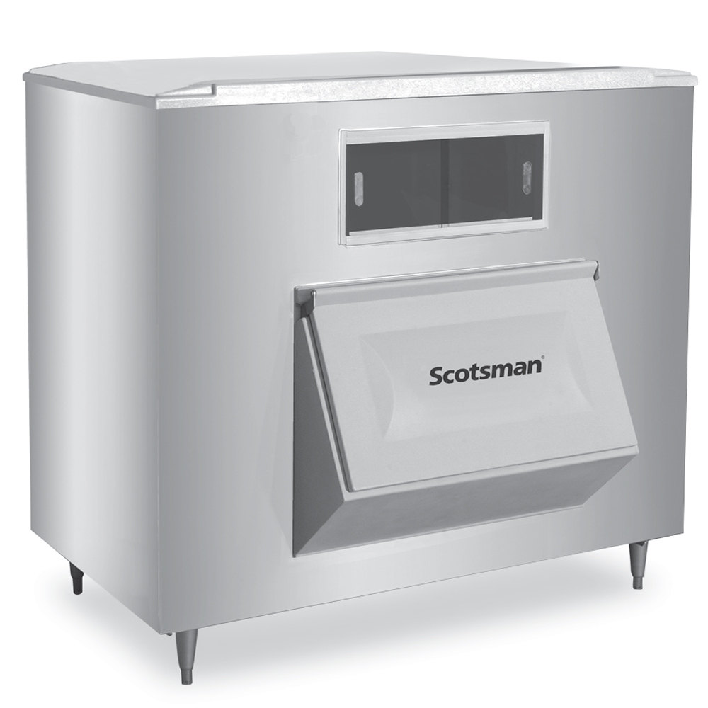 "Scotsman BH1600SS-A 60"" Wide 1755-lb Ice Bin with Lift Up Door"