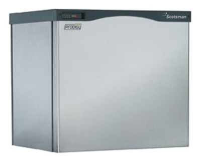 "Scotsman C0830MW-32 30"" Medium Cube Ice Machine Head - 924-lb/24-hr, Water Cooled, 208v/1ph"