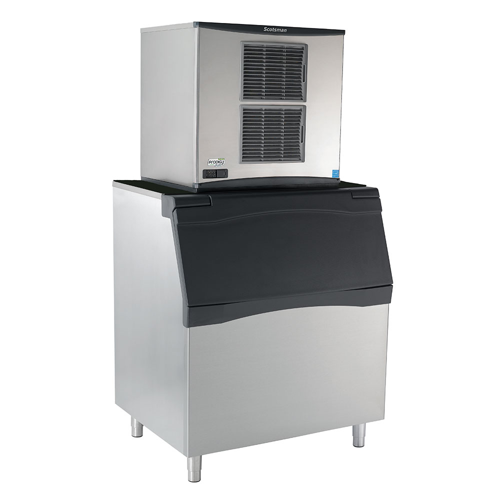 Scotsman C1030SA32AB842S 1077-lb/Day Prodigy Half Cube Ice Maker w/ 778-lb Bin, Air Cooled, 208v/1ph