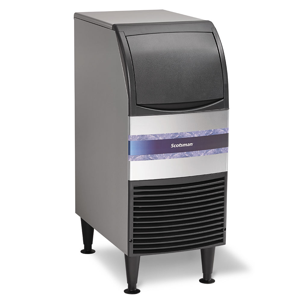 Scotsman CU0415MA-1 Undercounter Full Cube Ice Maker - 58-lbs/day, Air Cooled, 115v