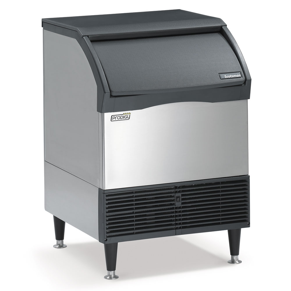 Scotsman CU1526SA-1 Undercounter Full Cube Prodigy Ice Maker - 150-lbs/day, Air Cooled, 115v