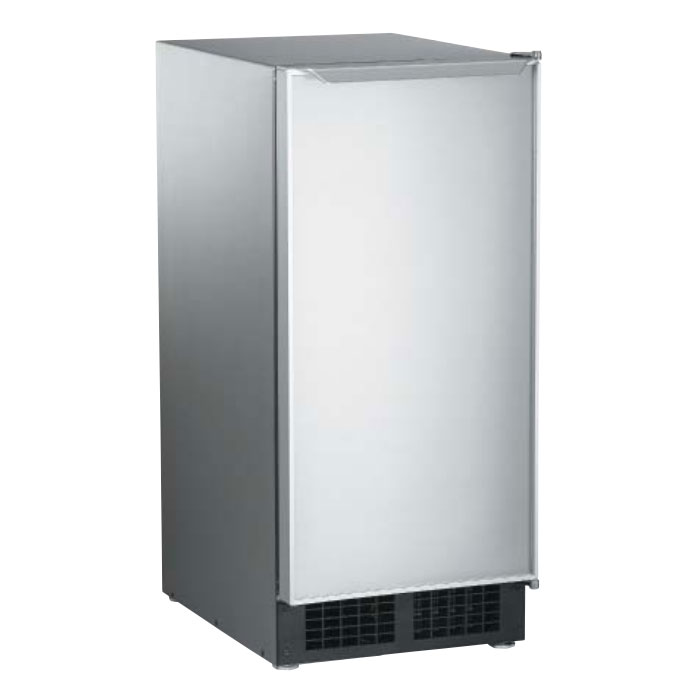 Scotsman DCE33A-1SSD Undercounter Top Hat Ice Maker - 30-lbs/day, Gravity Drain, 115v