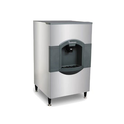 Scotsman HD30W-1 Floor Model Cube Ice Dispenser w/ 180-lb Storage - Bucket Fill, 115v