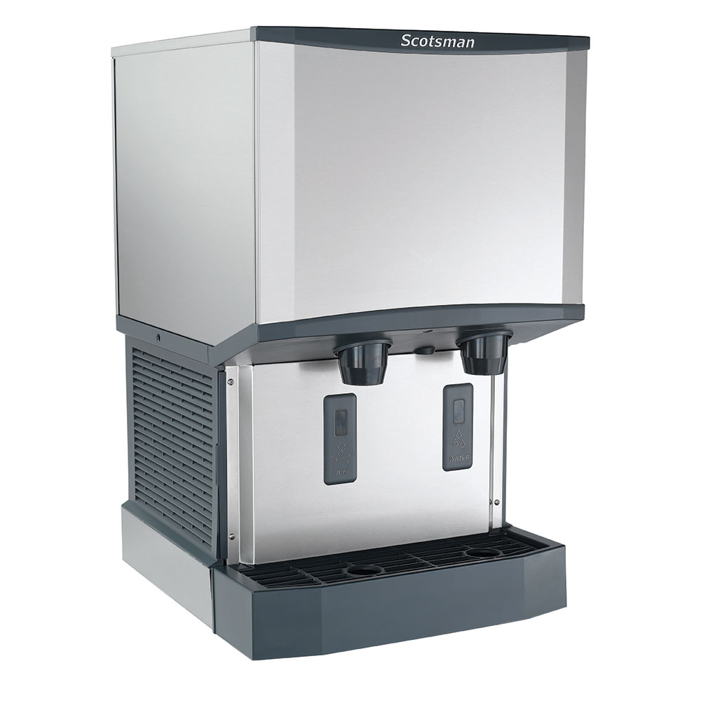 Scotsman HID525A-1 Countertop Nugget Ice Dispenser w/ 25-lb Storage - Cup Fill, 115v