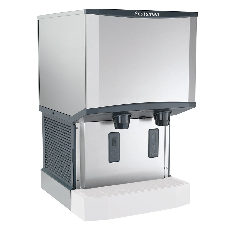 Scotsman HID525AW-1 Wall-Mount Nugget Ice Dispenser w/ 25-lb Storage, Cup Fill, 115v