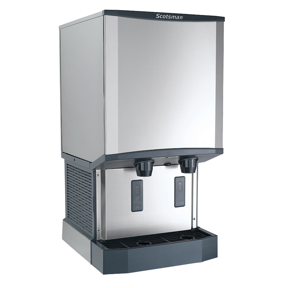 Scotsman HID540A-1 Countertop Nugget Ice Dispenser w/ 40-lb Storage - Cup Fill, 115v