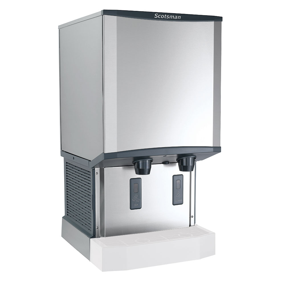Scotsman HID540AW-1 Wall-Mount Nugget Ice Dispenser w/ 40-lb Storage, Cup Fill, 115v