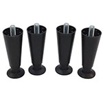 "Scotsman KLP24A 4"" Adjustable Legs w/ Metal Feet for HID Models, Plastic"