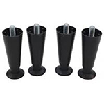 "Scotsman KLP7 6"" Legs w/Flanged Feet for B Series Bins or HD Dispensers"