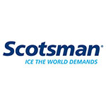 Scotsman KDFBS Door Panel Front Kit, SCCG50M1BU & SCCP50M1BU, Black Front & Stainless Handle