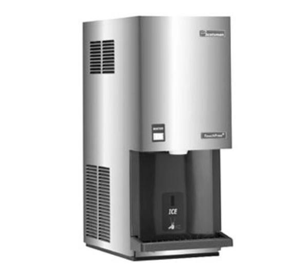 Scotsman MDT4F12A-1H Touchfree Ice Maker & Dispenser Flake Style 453 lb / 24 Hours 12 lb Storage Restaurant Supply