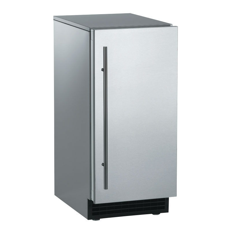 Scotsman SCCG50MA1SS Undercounter Top Hat Ice Maker - 65-lbs/day, Gravity Drain, Outdoor Rated, 115v