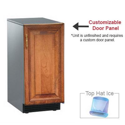 Scotsman SCCP30MA-1SU Undercounter Top Hat Ice Maker - 30-lbs/day, Pump Drain, 115v