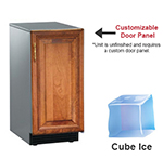 Scotsman SCCP30MA1SU Undercounter Full Cube Ice Maker - 30-lbs/day, Pump Drain, 115v