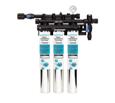 Scotsman ADS-AP3 Triple Combination Water Filter Cartridge Assembly, Tank
