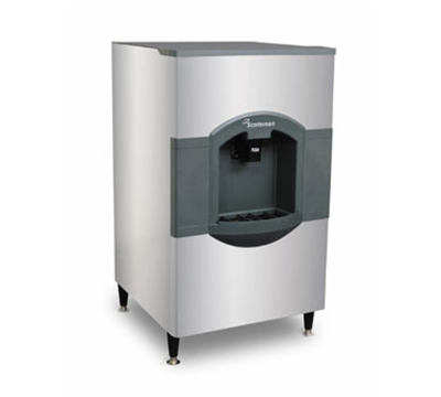 Scotsman HD30B-1 Floor Model Cube Ice Dispenser w/ 180-lb Storage - Bucket Fill, 115v