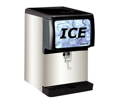 Scotsman ID150B-1 Countertop Cube Ice Dispenser w/ 150-lb Storage - Cup Fill, 115v