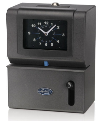 Lathem 2121 Time Clock, Manual Hour/Minute