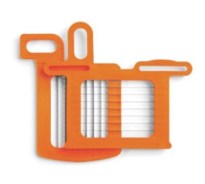 Dynamic AC061 Grid Set, 1/4 in (8.5x8.5 mm), Includes Pusher, for DC3, Orange