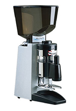 Dynamic 40A PPM (40APPM) Espresso Coffee Grinder w/ Pusher & Tamper, Painted Aluminum, Export
