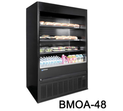 "Master-bilt BMOA-74 78"" Vertical Open Air Cooler w/ (4) Levels, 208v/1ph"