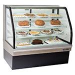 "Master-bilt CGB-77 77"" Full Service Bakery Case w/ Curved Case - (4) Levels, 115v"