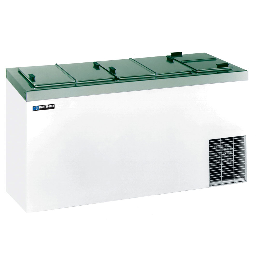 "Master-bilt DC-10D 66.63"" Stand Alone Ice Cream Freezer w/ 14-Tub Capacity & 11-Tub Storage, 115v"