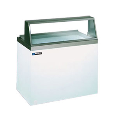 "Master-bilt DD-46 47.75"" Stand Alone Ice Cream Freezer w/ 8-Tub Capacity & 4-Tub Storage, 115v"