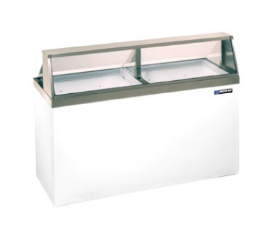"Master-bilt DD-66 69.25"" Stand Alone Ice Cream Freezer w/ 12-Tub Capacity & 8-Tub Storage, 115v"